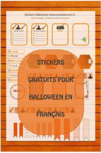 stickers halloween gratuits