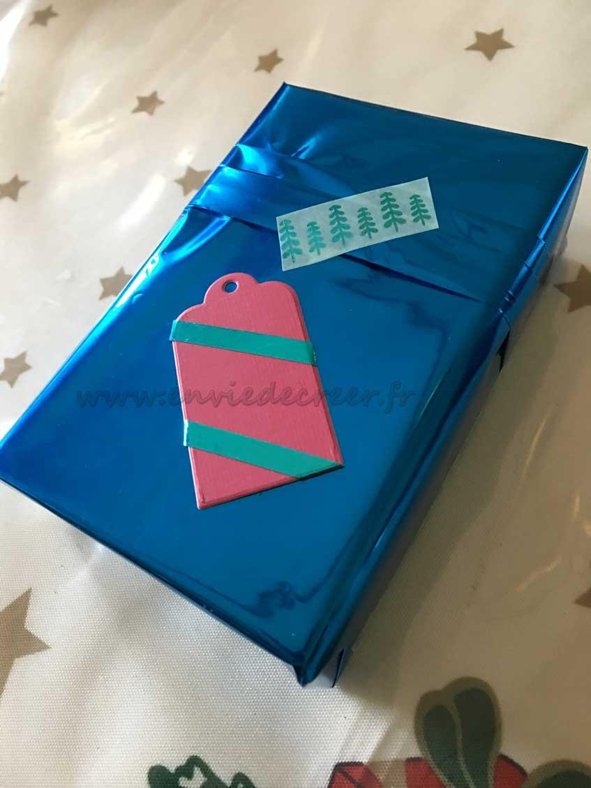cadeau washi noel