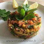 tartare saumon sans gluten