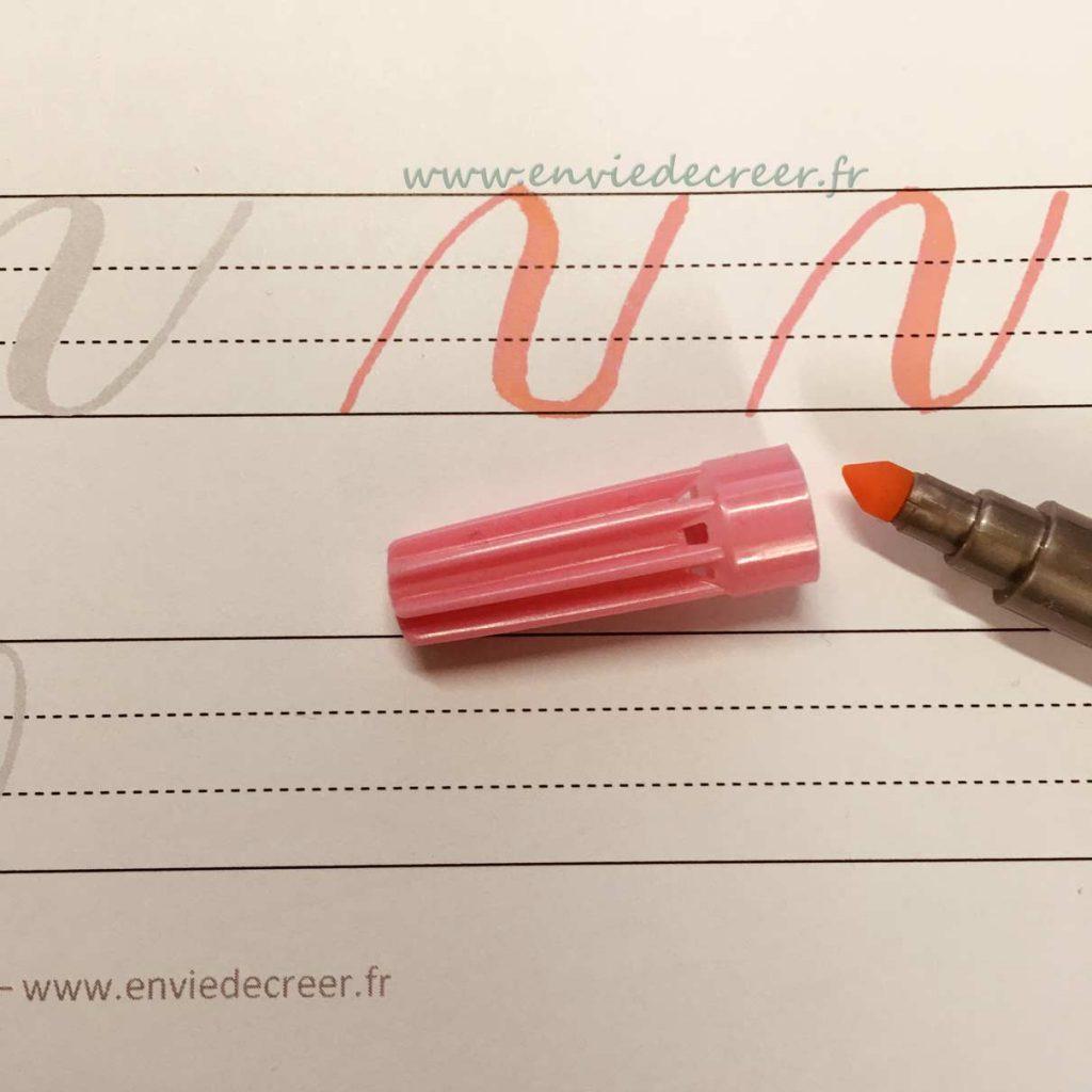 feutre-faber-castell brush lettering