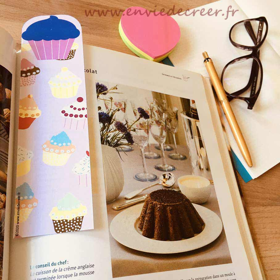 marque-page-a-imprimer-cupcake