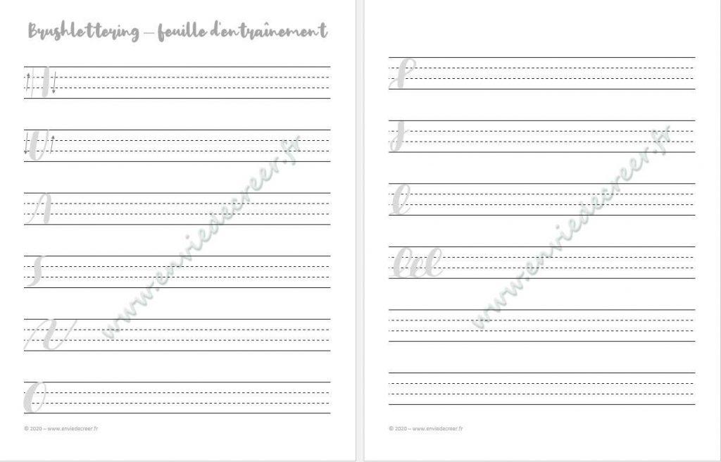 miniature-feuille-entrainement brush lettering