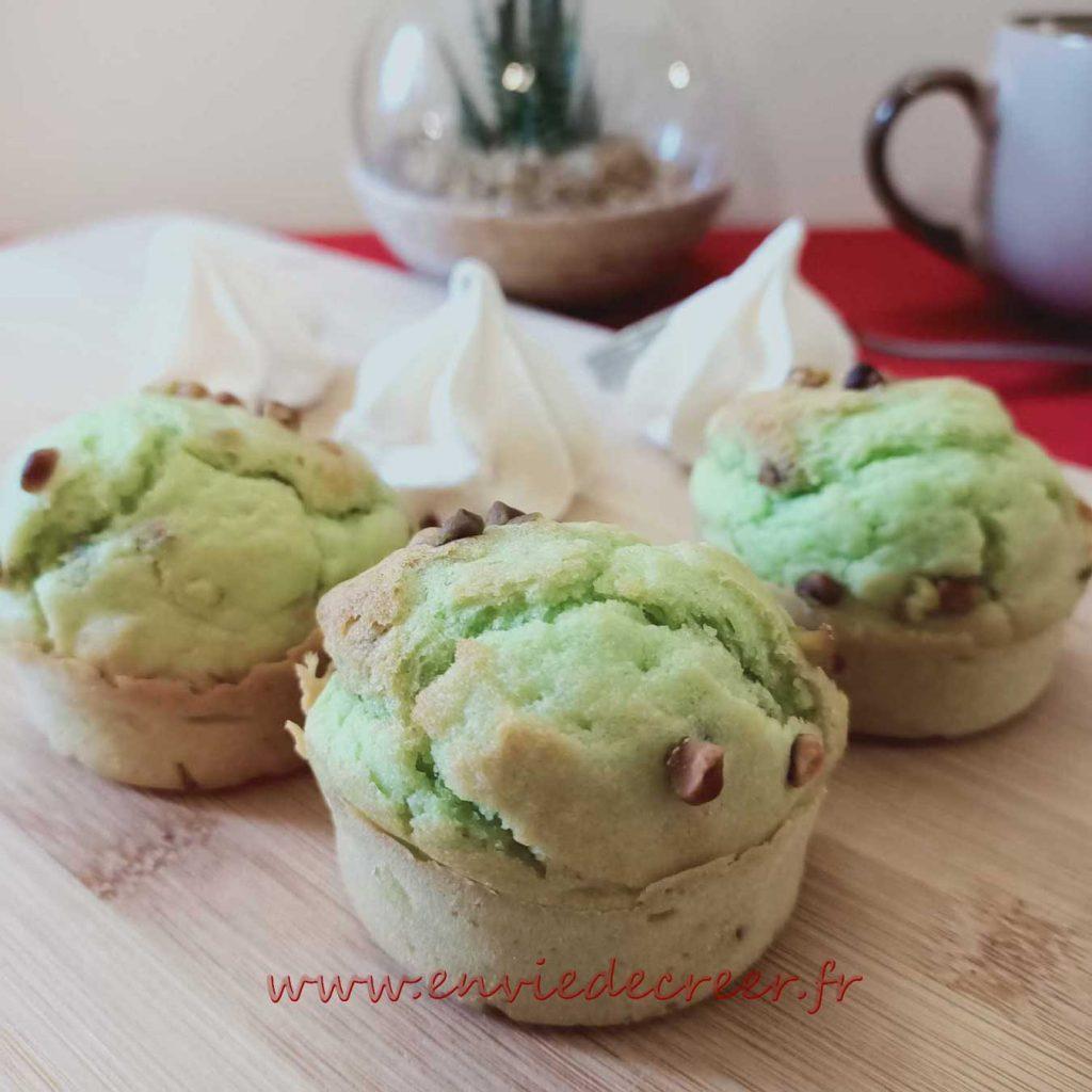 Muffins-pistaches
