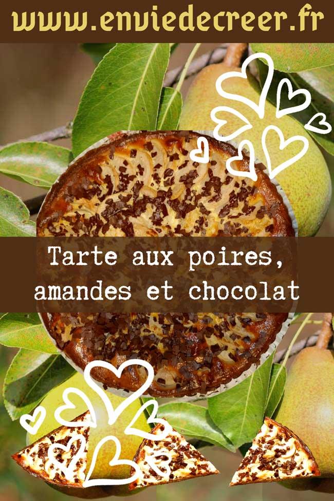 Tarte-poires-amandes-chocolat