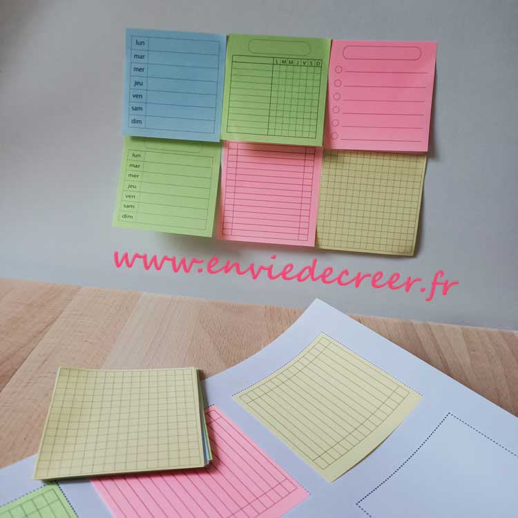 post-it-imprimés