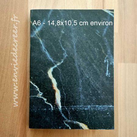 carnet a6 marbre