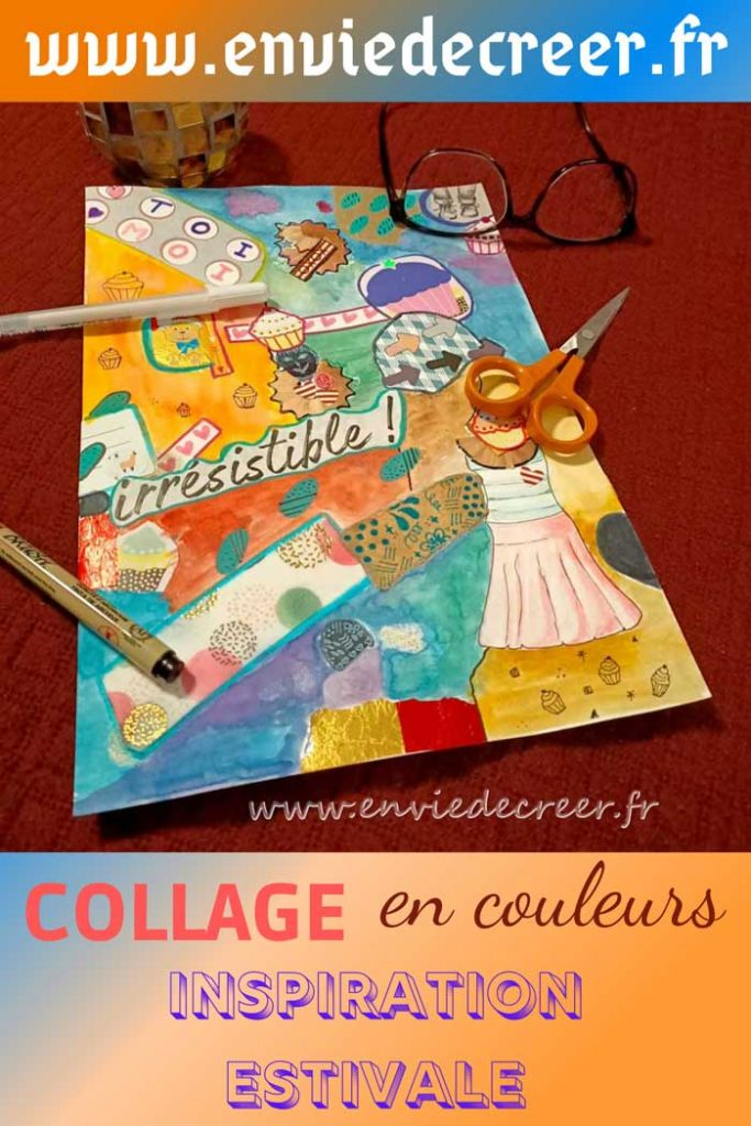 pin collage couleurs