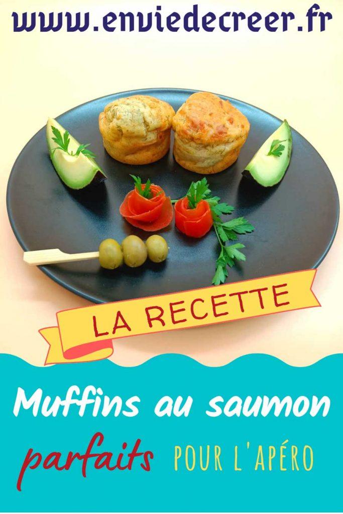 muffins au saumon affiche