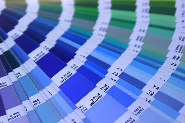 nuancier collage couleurs
