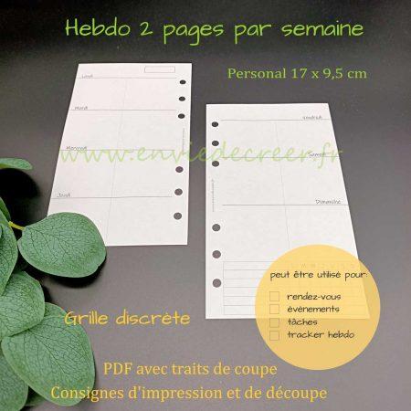 hebdo-personal 2-pages-par-semaine