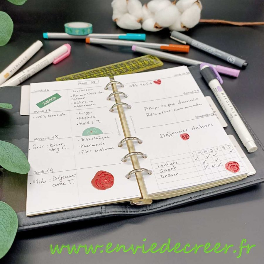 imprimable-organisation-1-semaine-sur-2-pages
