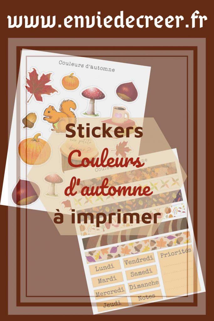 stickers couleurs automne